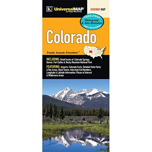 - Colorado State Waterproof Map