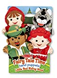 Toys : Melissa & Doug Fairy Tale Friends Hand Puppets (Set of 4) - Little Red Riding Hood, Wolf, Grandmother, and Woodsman