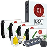 4x DOT-01 Brand Sony HDR-AS200V Batteries for Sony HDR-AS200V Camera and Sony AS200V Accessory Bundle for Sony BX1 NP-BX1