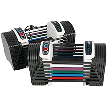 Power Block GF-SPDBLK24 Adjustable SpeedBlock Dumbbells (Pack of 2)