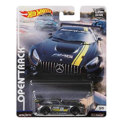 2020 Hot Wheels Car Culture Open Track '16 Mercedes-AMG GT3: Toys & Games