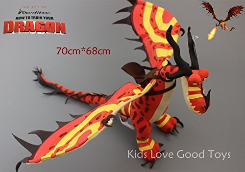How to Train Your Dragon 2 Monstrous Nightmare Night Fury Plush Toy Doll 28'' ()