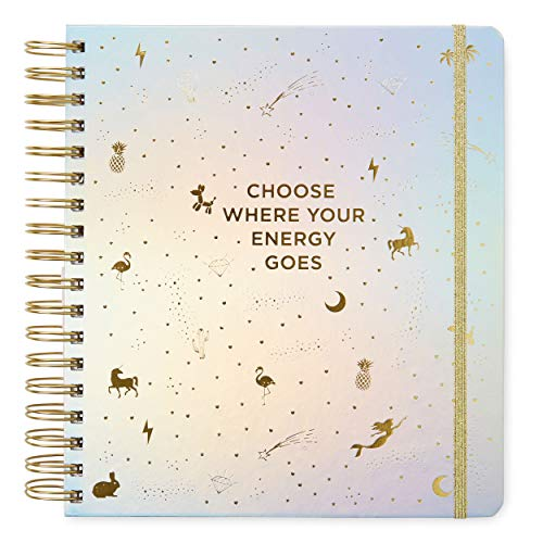 2019-2020 Choose Where Your Energy Goes, 17 Month Daily Planners/Calendars: Tri-Coastal Design Planners with Monthly, Weekly and Daily Views - Personal Planner Notebook for Work or Home