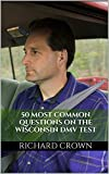 wi dmv - Pass Your Wisconsin DMV Test Guaranteed! 50 Real Test Questions! Wisconsin DMV Practice Test Questions