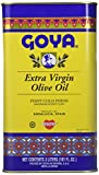 Goya Foods Extra Virgin Olive Oil, Tin, 3 Liter (pack of 3)