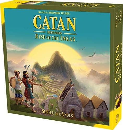 Catan Histories: Rise of The Inkas | Settle The Andes | Paquete de Productos de Nuevo: Amazon.es: Juguetes y juegos
