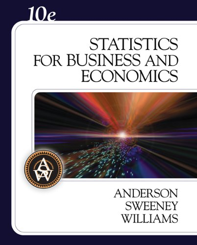 Statistics for Business and Economics (with CD-ROM) (Available Titles CengageNOW)