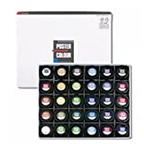Shinhan Artists' Poster Color 40ml - 30 Colors for Expert (A Type)