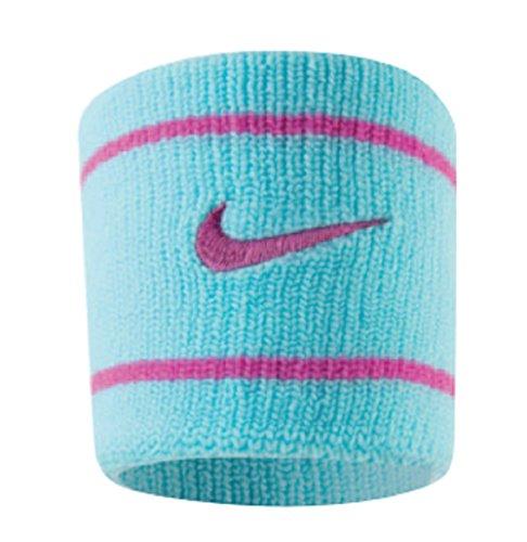 Munhequeira Pequena Dri-Fit Wristband, Único, Azul/Pink