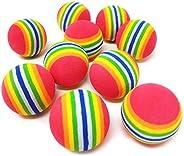 TOPRADE Multiple Color Foam Pellets Balls Bobbles Slingshot Ammo Safe Ammo Toy Enjoy Time with Kids and Pets