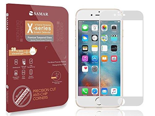 Samar® qualità, per Iphone 5/5S/5C con pellicola proteggi schermo (versione 2013), 6 pezzi, con panno di pulizia in microfibra