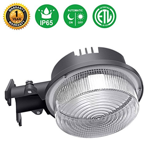 (Minger 30W Dusk to Dawn LED Outdoor Barn Light Photocell Included, 5000K Daylight 3500LM, Super Bright LED Floodlight, Waterproof Yard Light Fixture for Area Lighting, (ETL-Listed))