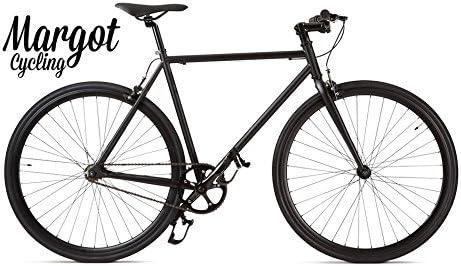 """Margot Cycling Europa Bici Fixie """""""" Fixed Bike Modelo. Matt Black ..."""