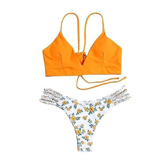 Mujer Bikini 2019 Traje de Baño Mujer Dos Piezas Ropa de ...