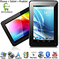 inDigi® 7 Android 4.2 JB Tablet Smart Phone WiFi Bluetooth Google Play Store US Seller