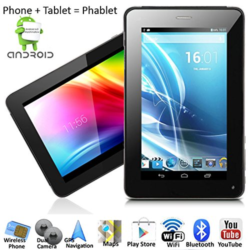 inDigi 7-inch Phablet Smart Phone + Tablet PC Android 6.0 Bluetooth GPS WiFi Unlocked!