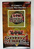 YuGiOh Gold Series 4 Pyramid Edition Booster Pack ( 25 Cards )