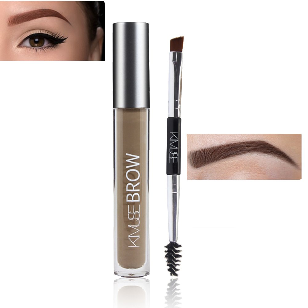 Cocohot Eye Augenbraue Gel Perfekte Augenbrauen in 2 Minuten Schwarz Braun Getönte Augenbraue Make-Up Gel (A2)