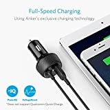 Anker Ultra-Compact 24W 2-Port Car Charger, PowerDrive 2 Elite with Lightning Connector and PowerIQ for iPhone X / 8 / 7 / 6s / Plus, iPad Air 2 / mini 4 and More