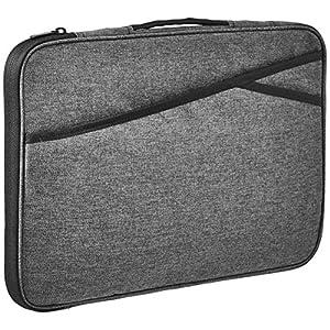 Amazon Basics Laptop Case Sleeve Bag – 15-Inch, Grey