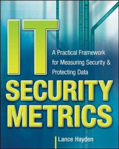 IT Security Metrics: A Practical Framework for Measuring Security & Protecting Data [Hayden, Lance] (Tapa Blanda)