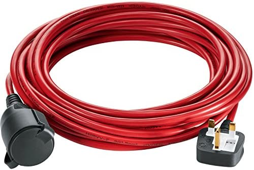 Version To Fit: Bosch Advanced Rotak Lawnmowers Bosch 10m Extension Power Cord