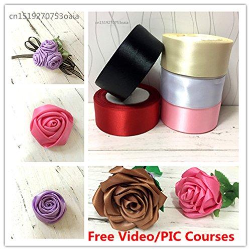 "25yards 1-1//2/"" 38mm Silk Satin Ribbon Wedding Party Decoration Gift Packing"