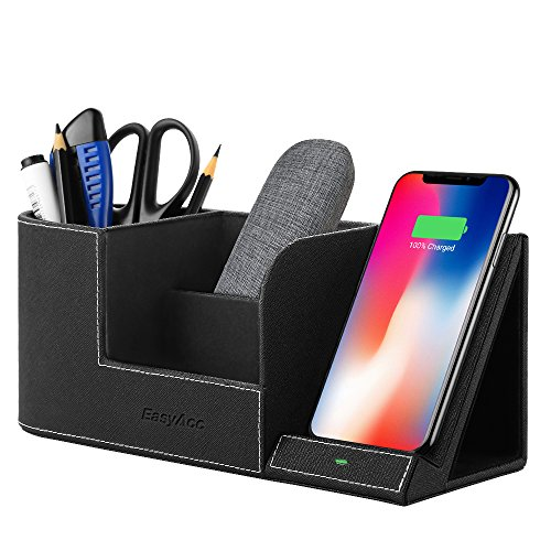 EasyAcc Wireless Charger with Desk Organ...