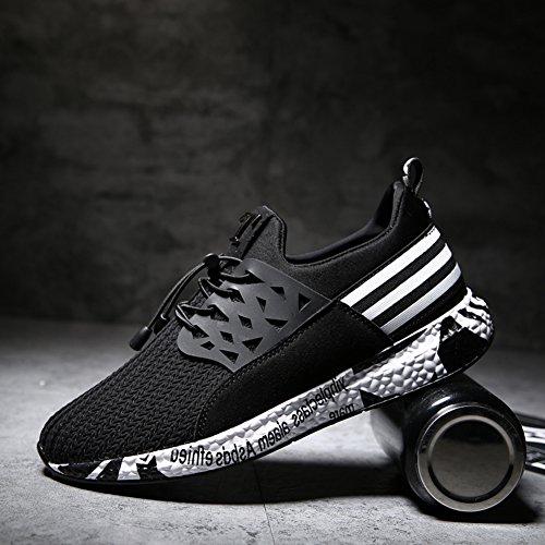 De De Hommes De Chaussures Chaussures Course D Respirant Sport Sport » Course Chaussures Tricot De Chaussures En De Noir Formation Hommes Sport De Chaussures Lumière ftw0qPOv0