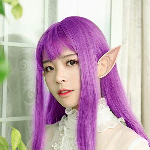 wodceeke Soft Elf Ears, Comfortable Reusable Pointed Prosthetic Tips Ear Decoration for Cosplay & Christmas Party (1 Pairs) by wodceeke (Image #3)