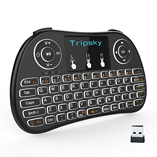 Wireless Keyboard Handheld Touchpad Raspberry
