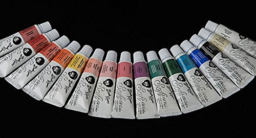 Bob Ross 37ml Soft Oil Color Tubes - Full Set of 22