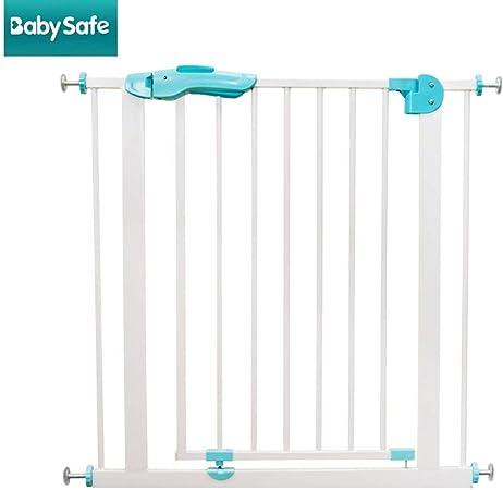 LOVE_BABY Lovebaby Barandilla del bebé Seguridad Infantil Barra de la Puerta Escalera Valla del bebé Cerca de la Puerta Barandilla de Aislamiento Perforación Libre Fuerte y Duradera Hecho: Amazon.es: Hogar