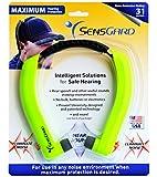 SensGard® SG-31 Lightweight Hearing Protection Band NRR 31dB (Bright Green)
