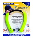 SensGard SG-31 Lightweight Hearing Protection Band NRR 31dB (Bright Green)