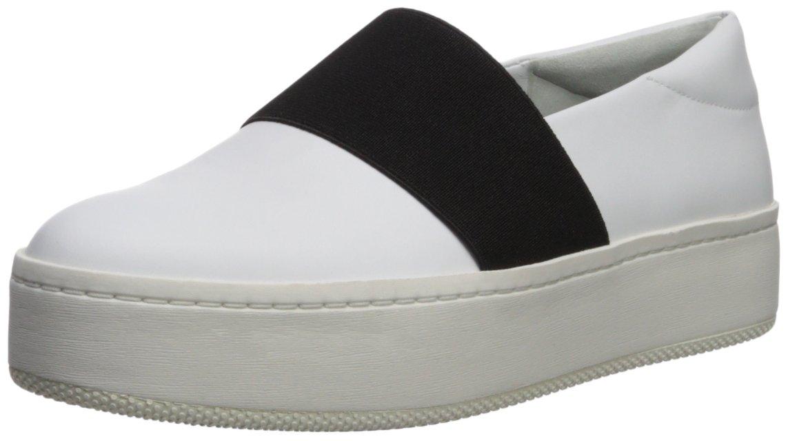 Via Spiga Women's Traynor Slip Sneaker B0753668L5 7.5 B(M) US|Porcelain Leather