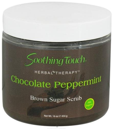 Soothing Touch, Scrub Brown Sugar Chocolate Peppermint, 16 Ounce