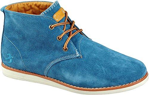 Brakeburn Schuhe CHUKKA MENS BOOTS blue Blue