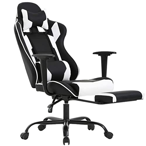 Ergonomic Office Chair PC Gaming Chair Desk Chair Executive PU Leather Computer Chair