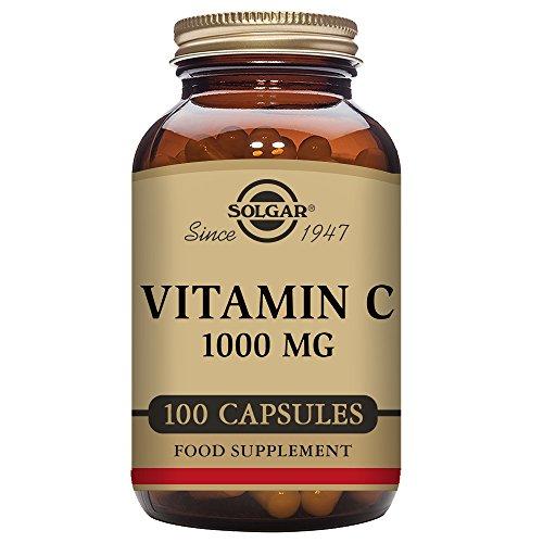 Solgar Vitamin C 1000 mg, 100 Vegetable Capsules