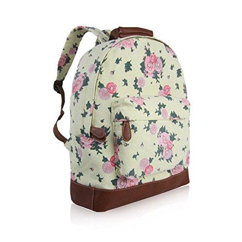 Craze London - Bolso mochila  de Lona para mujer beige