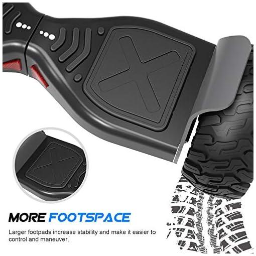 2WD Pack: Hoverkart + Hoverboard 8.5pouces Gyropode Hummer Tout-Terrain avec Haut-Parleur Bluetooth de Haute qualité,fonctionné APP. (Hoverboard-Noir Hoverkart-Noir)