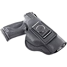 1791 GunLeather Premium Soft Leather Holster - IWB CCW Holster - Right Handed Leather Gun Holster - Fits Sig Sauer P226 P220 P228, Smith & Wesson MP Shield, RUGER SR9 SR40, Springfield XDS, XD9 (SCH4)