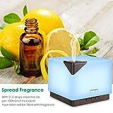 URPOWER 700ml Aromatherapy Essential Oil Diffuser