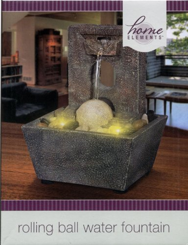 Home Elements - Rolling Ball Water Fountain : No. 56796