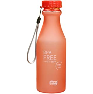 STRIR Botella de Agua Deporte 550ml, Eco-Friendly de plastico - sin BPA,
