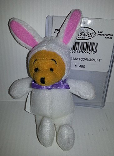 (Easter Bunny Pooh Magnet 4