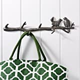 Cast Iron Birds And Twigs Wall Hook from Tutti Decor