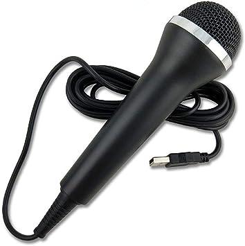 BAIYI Micrófono con Cable USB Universal para PS3 PS4 para Xbox One ...