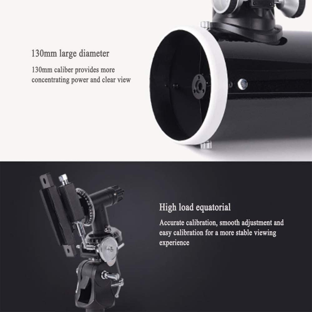Astronomical High-Power 50MM HD Coated Optical Lens Portable Tripod Outdoor Travel Camping KONGZIR Telescope